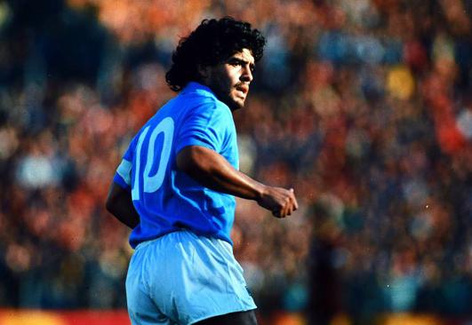 ¿Homenaje a Diego A. Maradona?